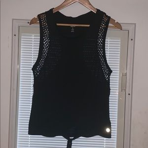 Size M black tank top. Good condition